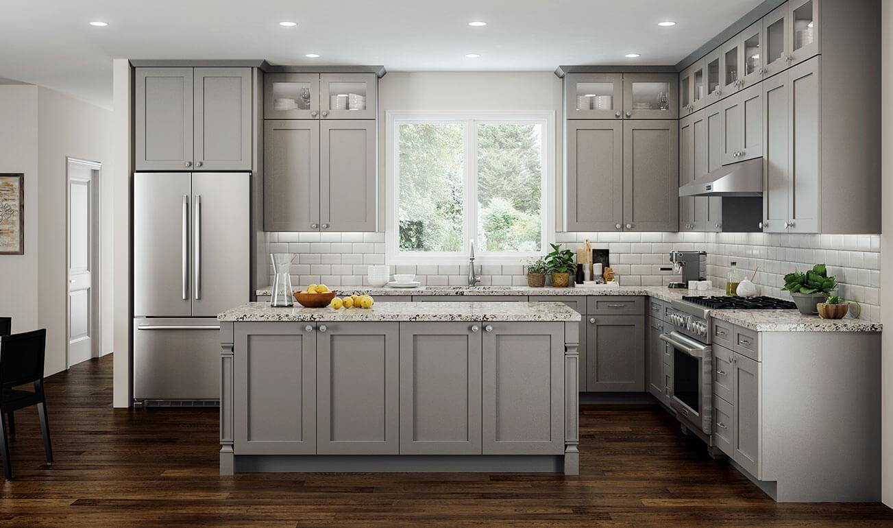 Elegant Dove Kitchen