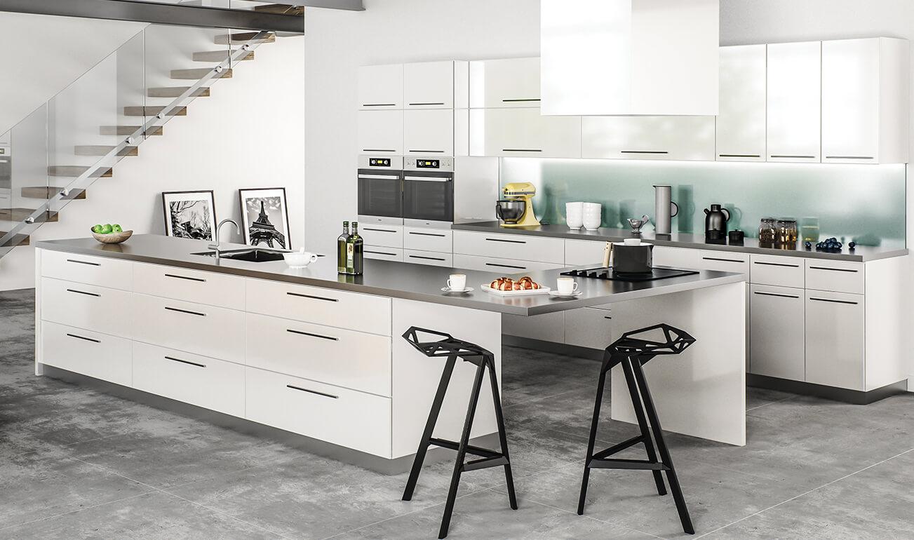 Milano White Kitchen