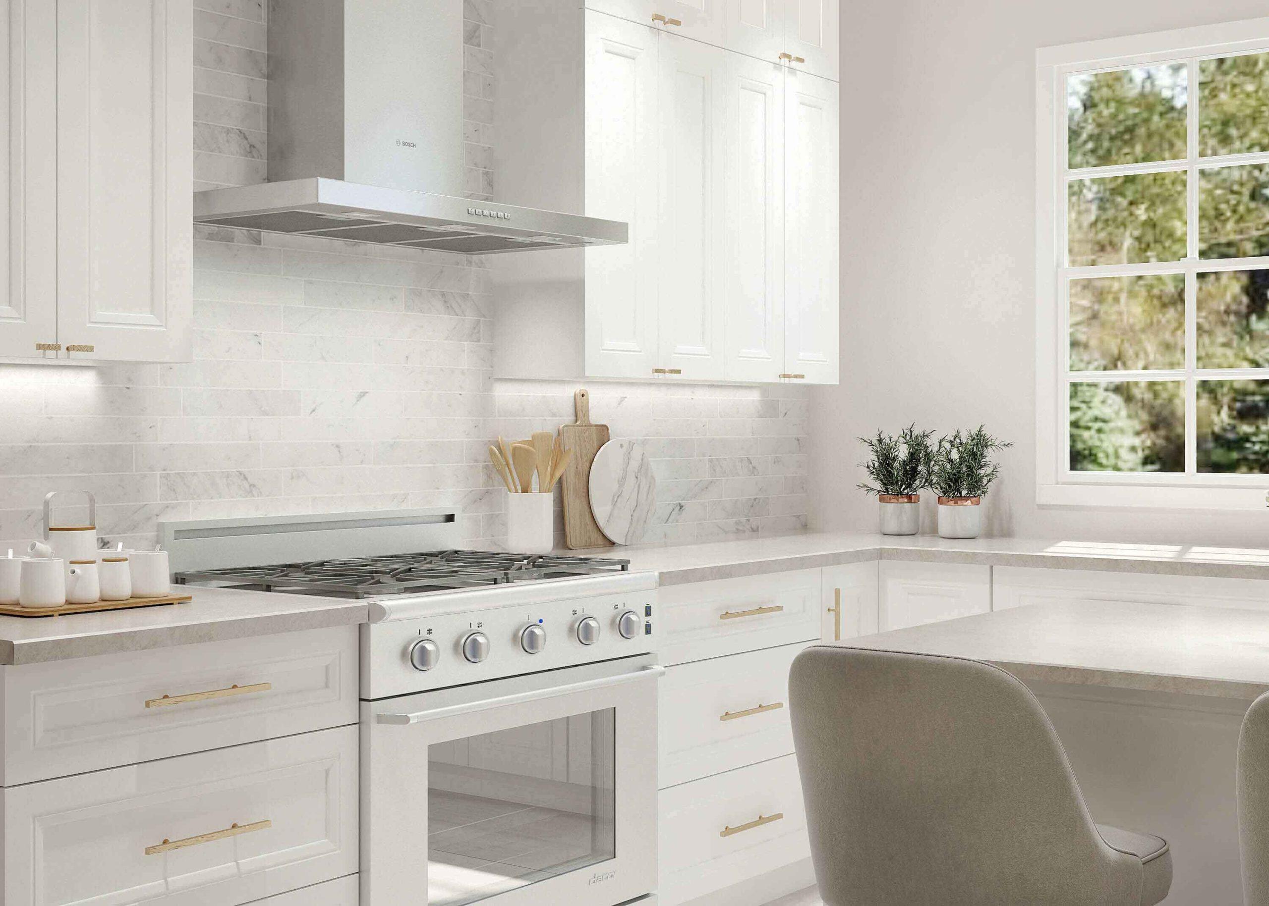 Richmond White Kitchen